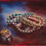 Accessorize Me! / oil on canvas / 80x60 cm / 2012