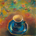 Another Espresso Please / oil on canvas / 60x60 cm / 2012