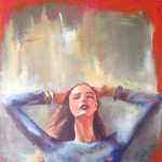 Listen with your Heart / oil on canvas / 67*67 cm