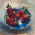 Cobalt Blue Inspiration / oil on canvas / 65x80 cm / 2013