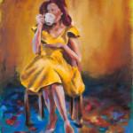 Coffee or Tea / oil on canvas / 80x65 cm / 2014