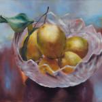 Kissing Lemons / oil on canvas / 70x80 cm / 2012