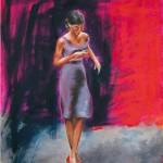The News / oil on canvas / 80x65 cm / 2014