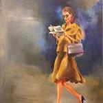 Yesterdays News / oil on canvas / 80x65 cm / 2015