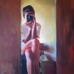 Communication / oil on canvas / 102x70 cm / 2014