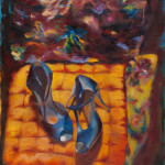 Dance on Little Girl / oil on canvas / 70x90 cm / 2012