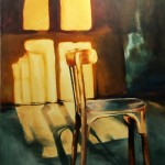 The Shadow Of Light/ oil on canvas/ 90X70 cm